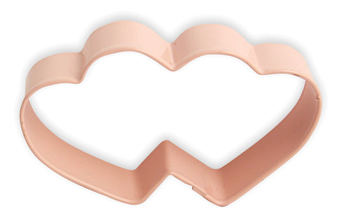 Cookie Cutters: Double Heart 9cm