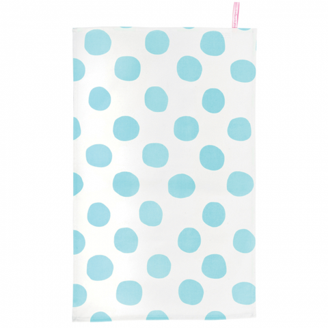 Tea Towel: Pois Celeste