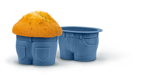 Muffin Tops Cake Moulds - Pack of 4 - Fred & Friends