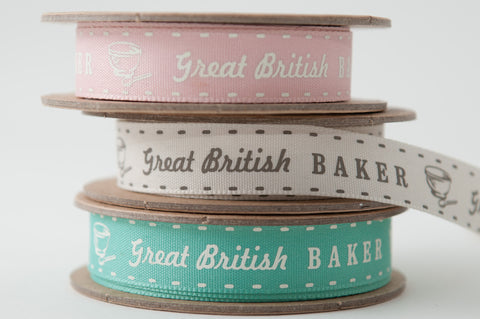 Ribbon: Great British Baker 4m