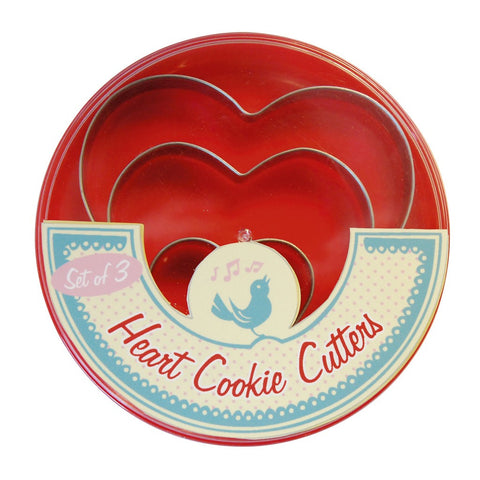 Cookie Cutters: Butterfly, Heart or Round