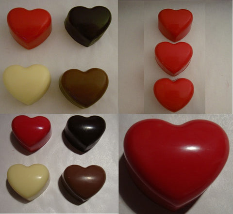 Silicone Mould: Small Chunky Hearts