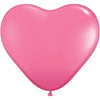 Giant 3ft/1m Balloons: Heart Shaped