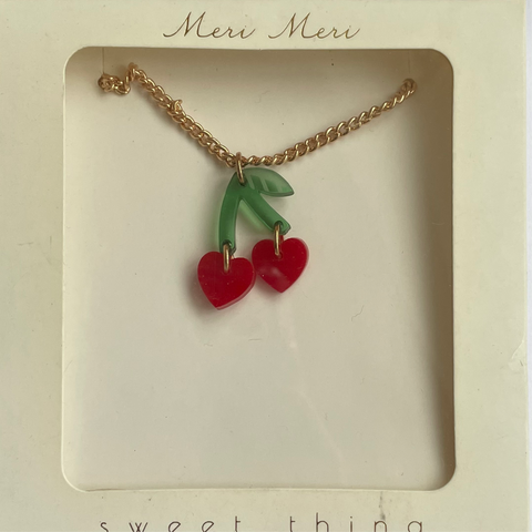 Necklace: Cherries
