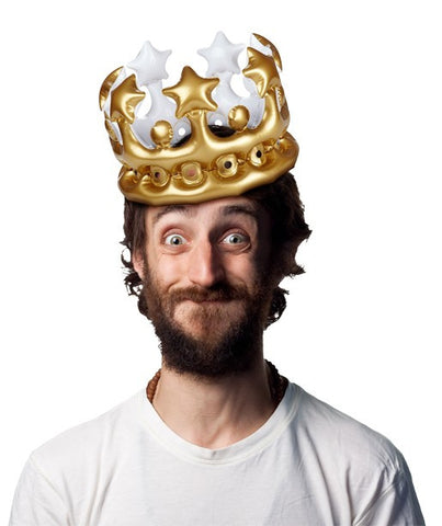 Inflatable Crown: King for the Day