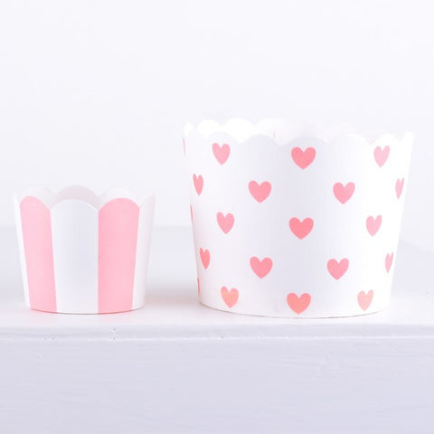 Miss Etoile Mini Baking Cups: Pink, Blue or Green