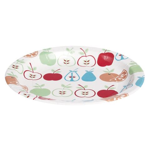 Paper Picnic Plates: Fruit Salad - Set of 6