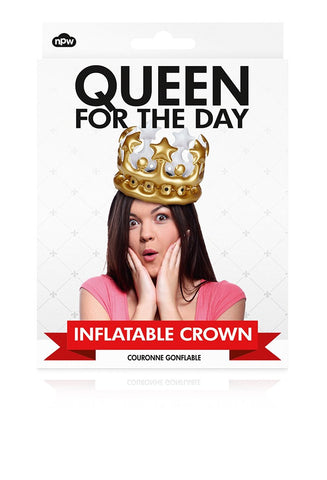 Inflatable Crown: Queen for the Day