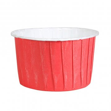 Baking Cups: Pleated Red: Pack of 20