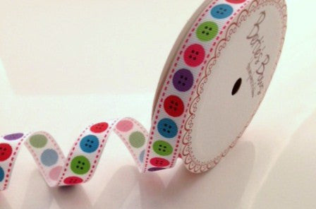 Ribbon: Buttons 3m