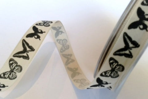 Ribbon: Butterflies 3m