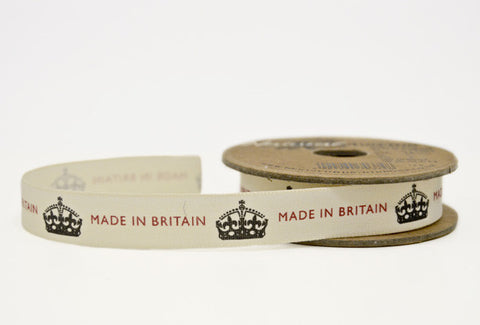 Ribbon: Made in Britain 3m