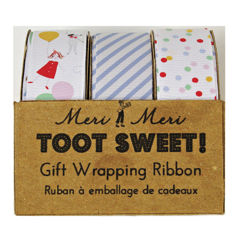 Ribbon: Toot Sweet - Pack of 3 Designs