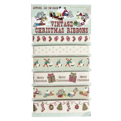 Ribbon Selection: Vintage Christmas 9m