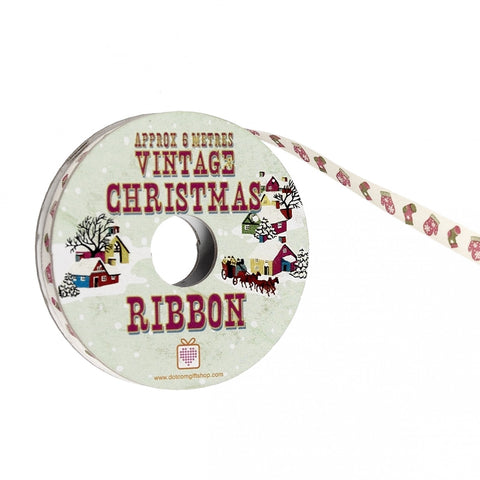 Ribbon: Vintage Christmas Socks & Mittens 6m