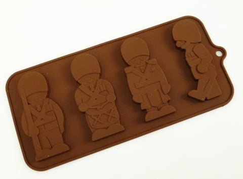 Silicone Mould: Drummer Boy/Toy Soldiers