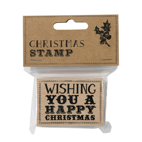 Stamp: Wishing you a Happy Christmas