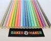 Straws: Chevron Zigzag Stripes - Packs of 25