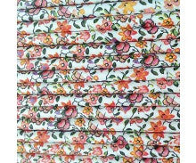 Straws: Floral Liberty Print - Packs of 25