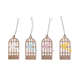 Gift Tags: Birdcage