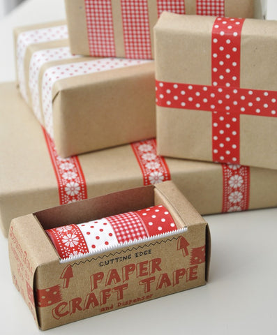 Tape: Washi Style: Scandi Red
