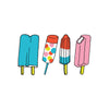 Temporary Tattoos: Ice Lollies
