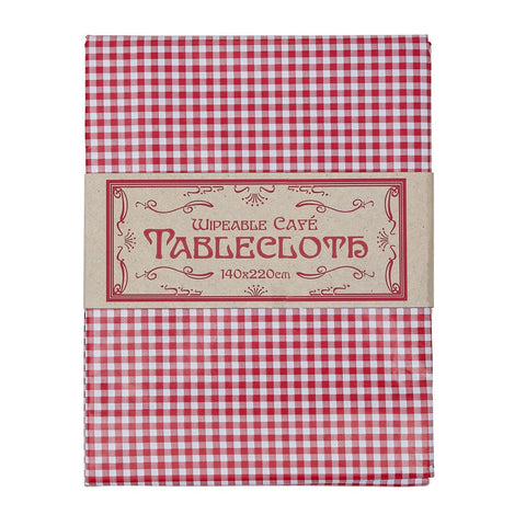 Tablecloth: Classic Gingham - Wipe Clean