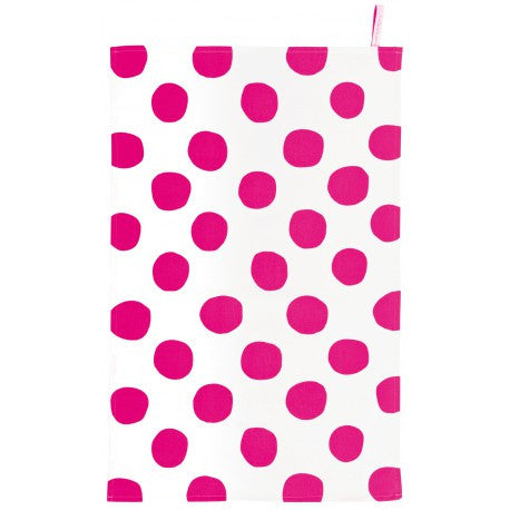 Tea Towel: Pois Pink