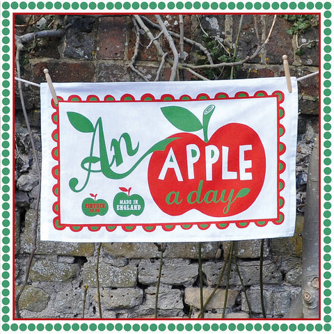 Tea Towel: An Apple a Day