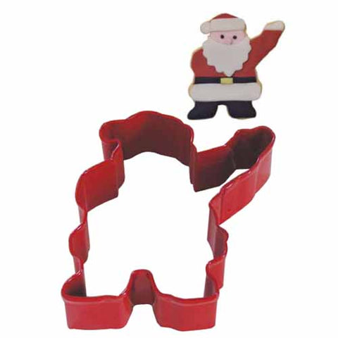 Cookie Cutter: Waving Santa