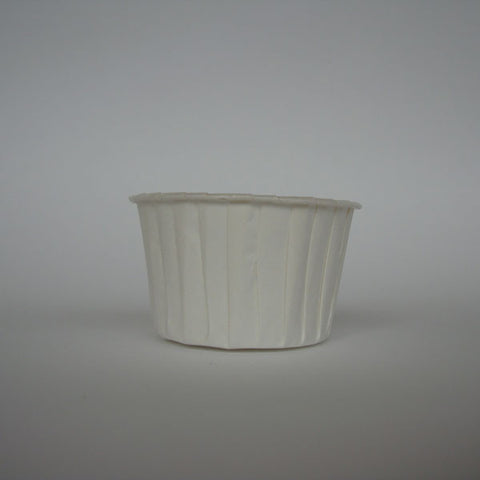Baking Cups: Pleated White: Pack of 20