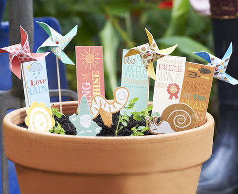 Mini Windmills: Garden Theme