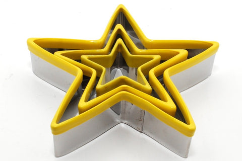 Cookie Cutter Set: Stars - 3 Pieces