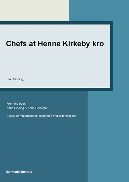 Chefs at Henne Kirkeby Kro