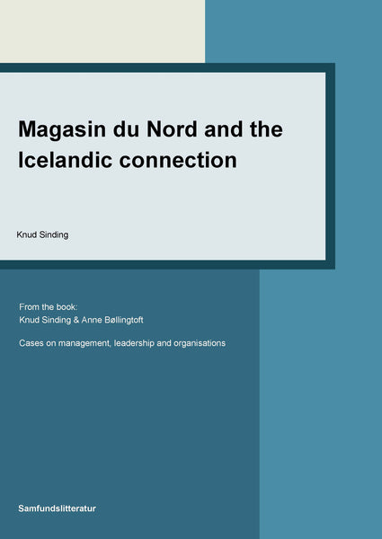 Magasin du Nord and the Icelandic connection