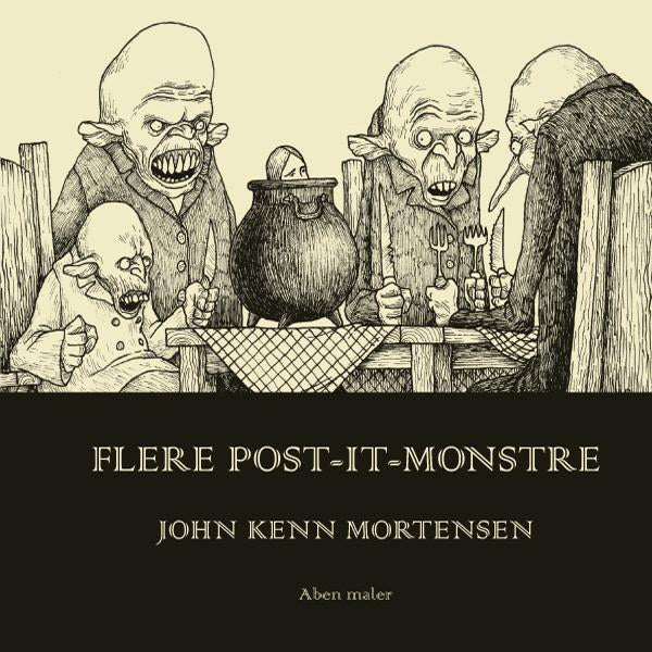 Flere post-it-monstre