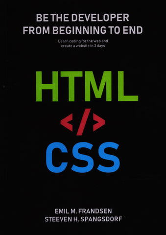 The website in html and css
