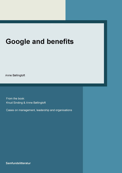 Google and benefits