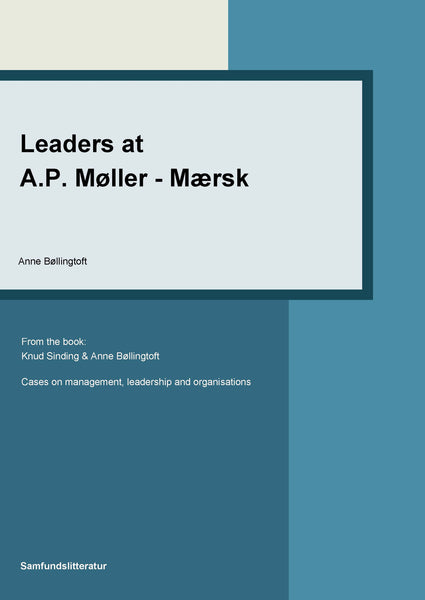 Leaders at A.P. Møller – Mærsk