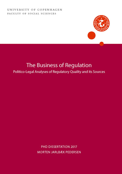 The Business of Regulation