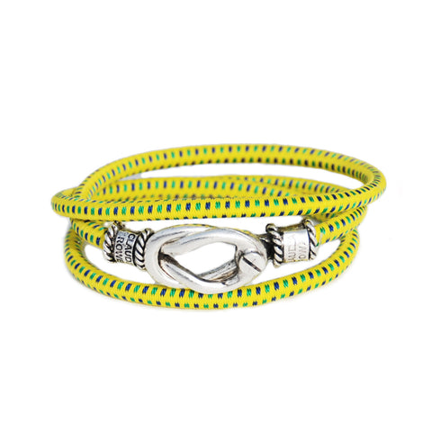 The Newport Triple Wrap/Yellow Green