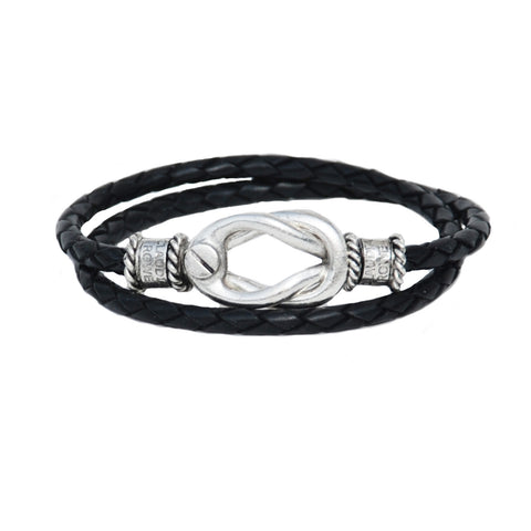 Signature Easton Black Leather Wrap