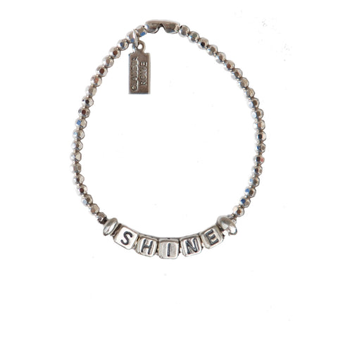 Solid Sterling Sliding Shine Bracelet