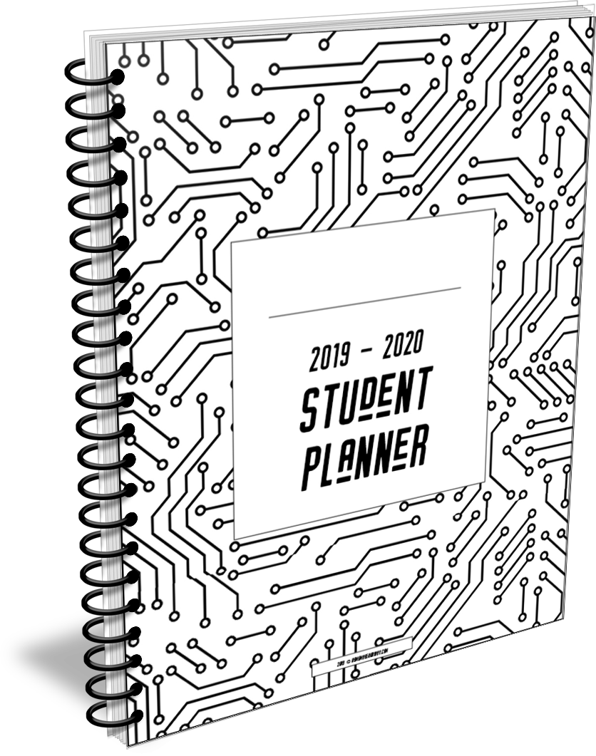 2020 - 2021 Student Planner in circuit design