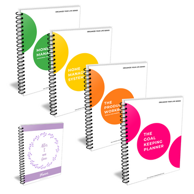 The Life Organization Series of Planners