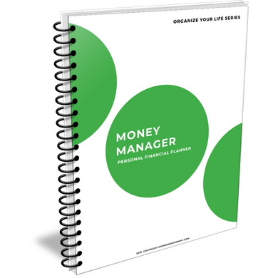 The Money Manager Personal Finance Planner for All Your Budgeting, Tracking, and Organizing Needs