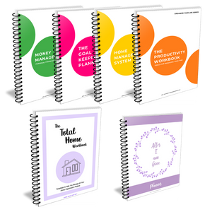 Total Home and Life Organization Bundle