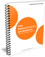 Load image into Gallery viewer, The Productivity Workbook: Tools for Managing Your Time