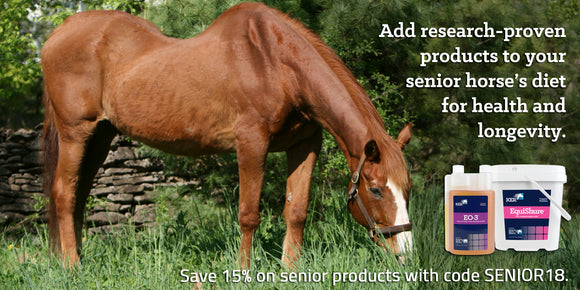 Save 15% on senior products with code SENIOR18.