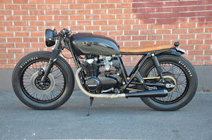 Black & Tan // Brady Young's CB550 Hard Rock Cafe
